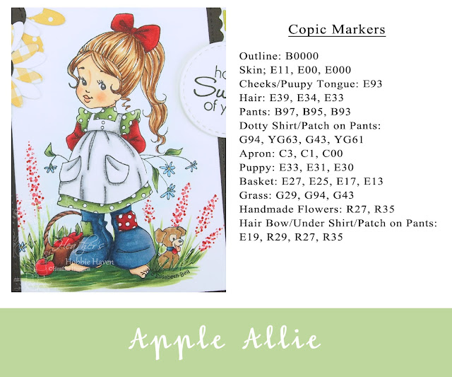 Heather's Hobbie Haven - Apple Allie Card Kit