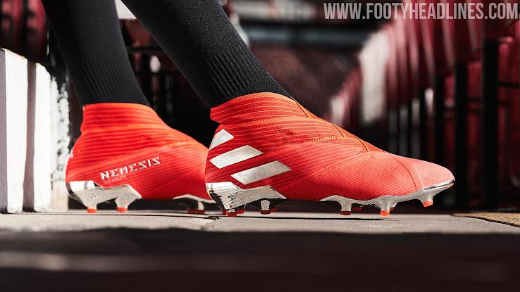 bed421710716 Next-Gen Adidas Nemeziz 19+ Debut Boots Revealed - 302 Redirect Pack ...
