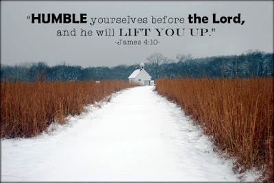 James 4:10 humble yourselves before the Lord
