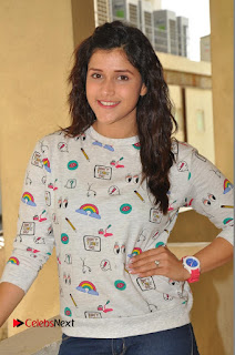 Actress Mannara Chopra Pictures in Denim Jeams at Thikka Movie Interview  0005.JPG