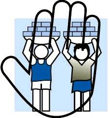 Dibujo dedicado al Día Mundial contra el Trabajo Infantil