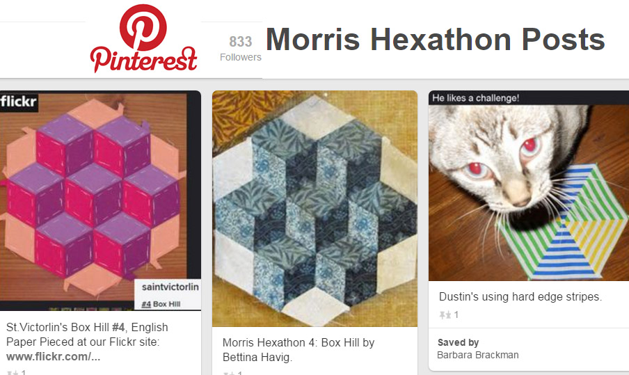 KEEP TRACK OF MORRIS HEXATHON POSTS