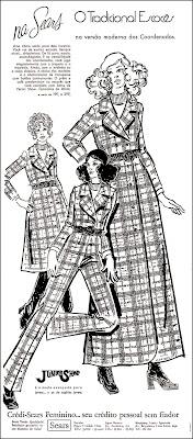 Sears, Brazil fashion in the 70s, moda anos 70; 1971; propaganda anos 70; história da década de 70; reclames anos 70; brazil in the 70s; Oswaldo Hernandez