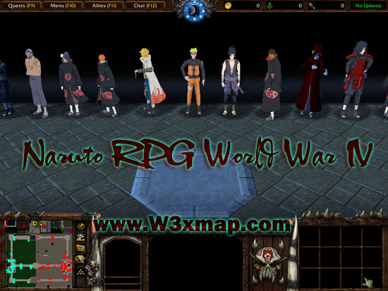Naruto RPG World War IV