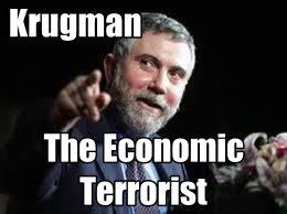 Krugman l'economista terrorista premio Nobel per l'economia