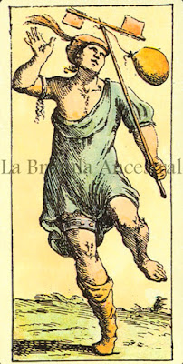 Tarot de Mitelli: El Loco