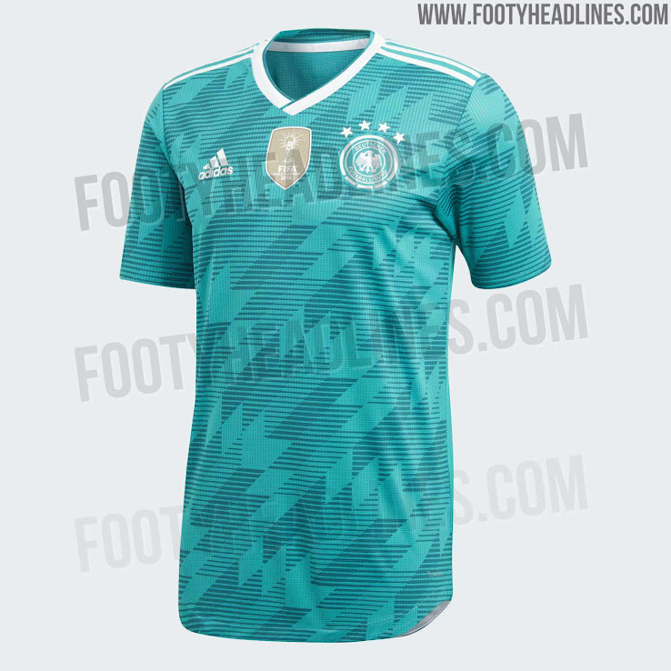 31e38517950 Germany 2018 World Cup Away Kit Released - Footy Headlines