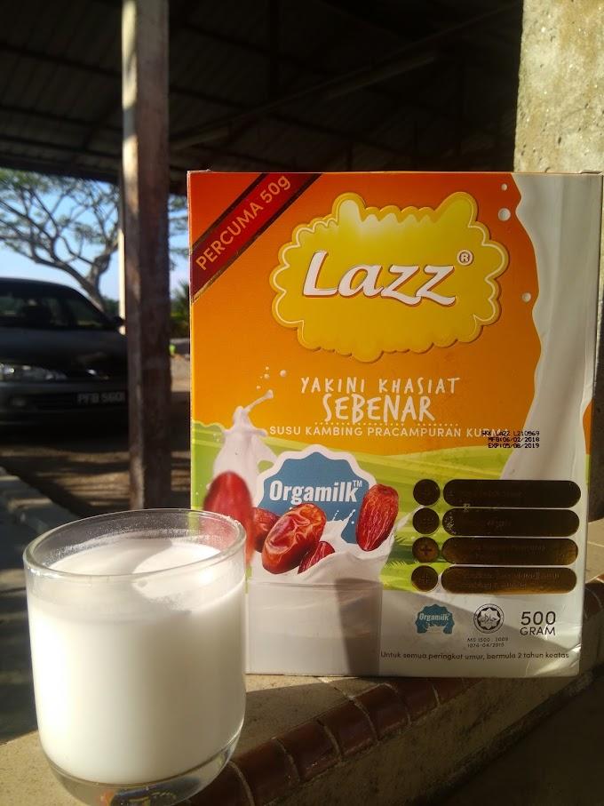 Jatuh Cinta Dengan Lazz Susu Kambing