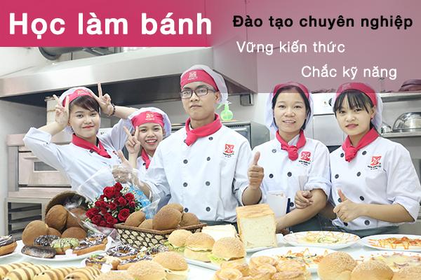 hoc lam banh