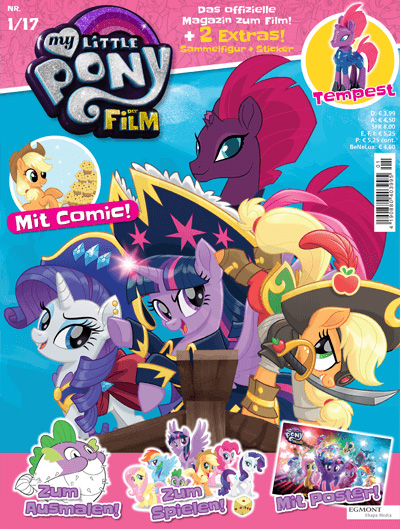 my little pony germany magazine 2017 issue 1 mlp merch