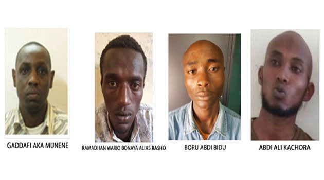 Four Wanted Terror Suspects Surrender In Isiolo