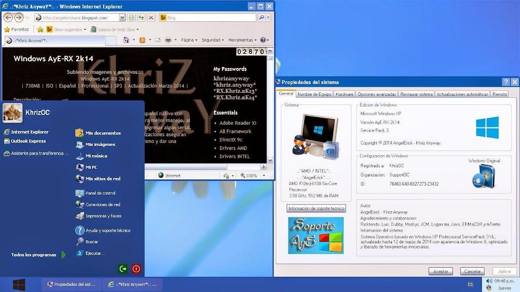 Cap2 - Windows XP AyE-RX 2k14 [Español] [2014] [ULD]