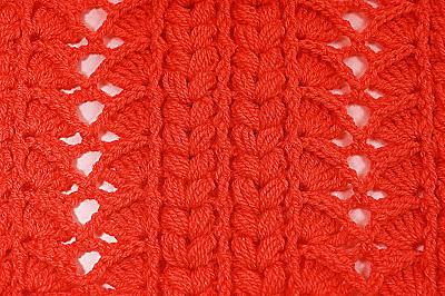 5 - Crochet Imagen Majovel crochet puntada para cobijas, mantas , jerseis y chambritas.