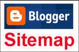 sitemap per label blogger