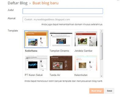 Cara Membuat Blog di Blogspot Paling Lengkap dan Praktis