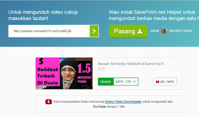 ssyoutube - download video dari youtube