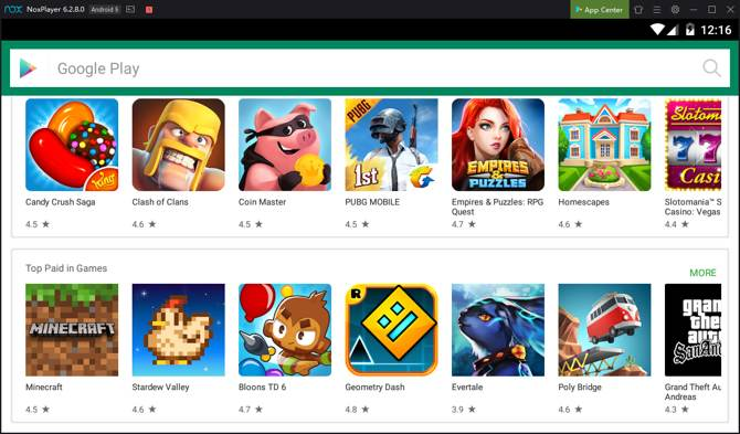nox menjalankan aplikasi android pusat aplikasi windows 10