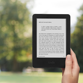 only today ! Kindle, 6″ Glare-Free Touchscreen Display, Wi-Fi (Black) – Special Offers £47.99