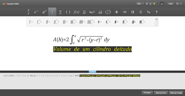Extensão Daum Equation