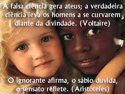 somos todos iguais, o sensato reflete