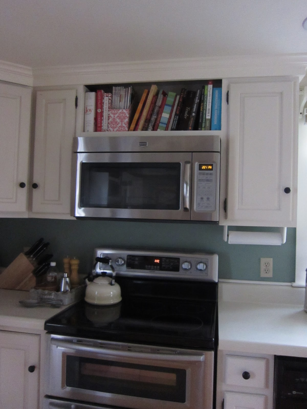 Mounting Microwave Above Stove Without Cabinet  BestMicrowave