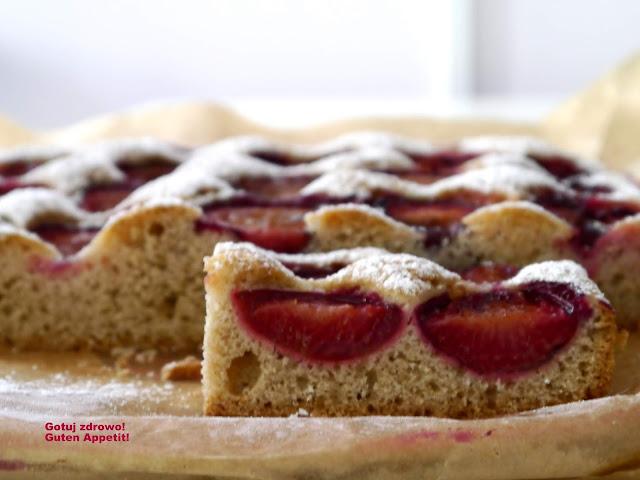 Gryczane ciasto ze śliwkami. Przepis dla Helenki - Czytaj więcej »