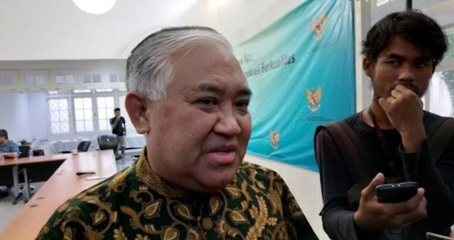 Din Syamsuddin Minta Kubu Prabowo Buktikan Kecurangan Pemilu: Kalau Tak Benar, Itu Fitnah