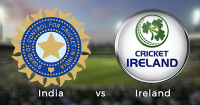 IRELAND vs INDIA T20I series squads and schedule