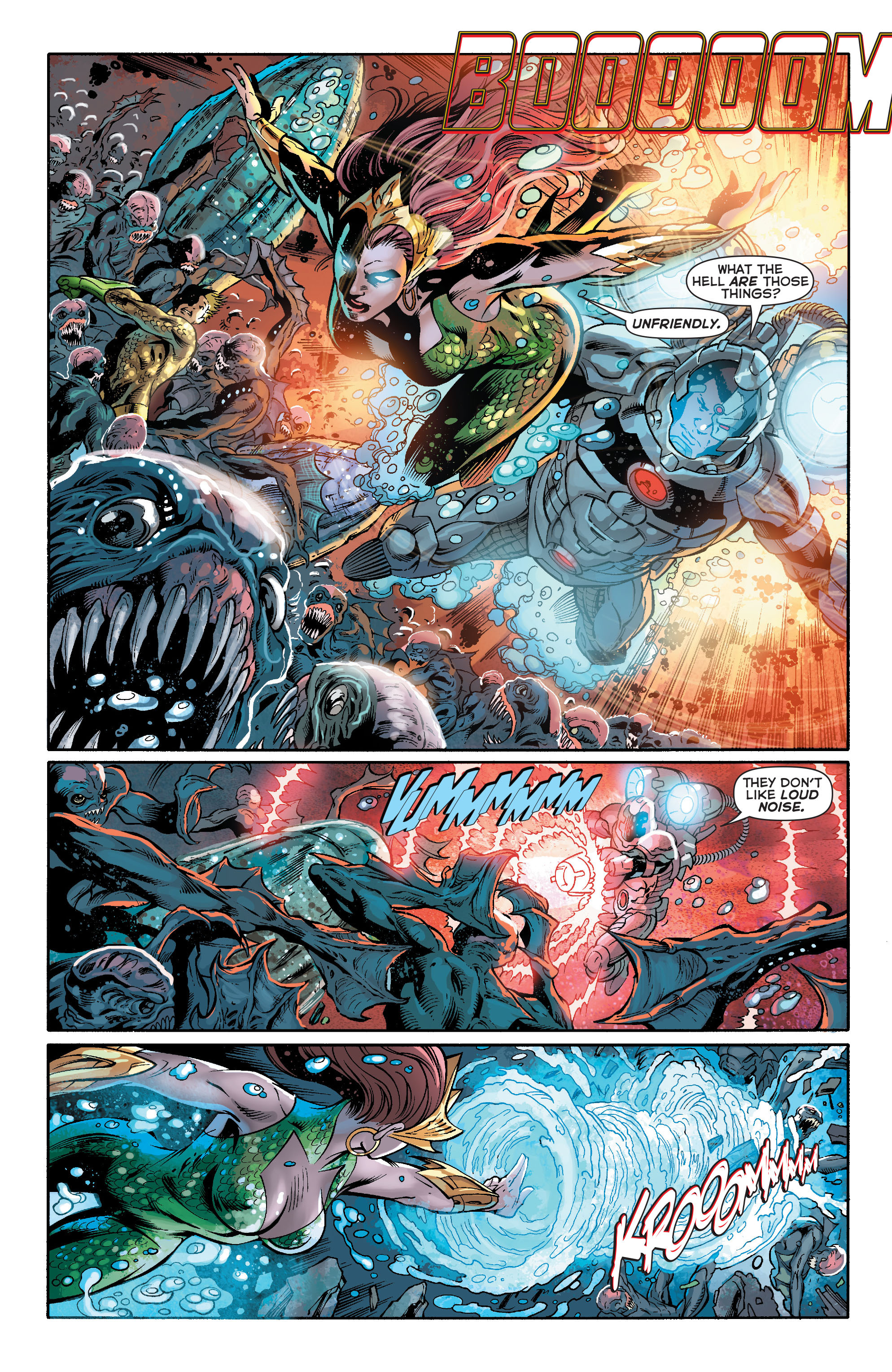 Read online Aquaman (2011) comic -  Issue #16 - 16