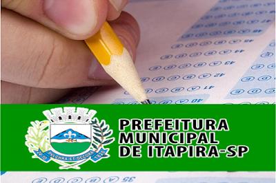 concurso prefeitura de Itapira-SP: EDITAL 2018