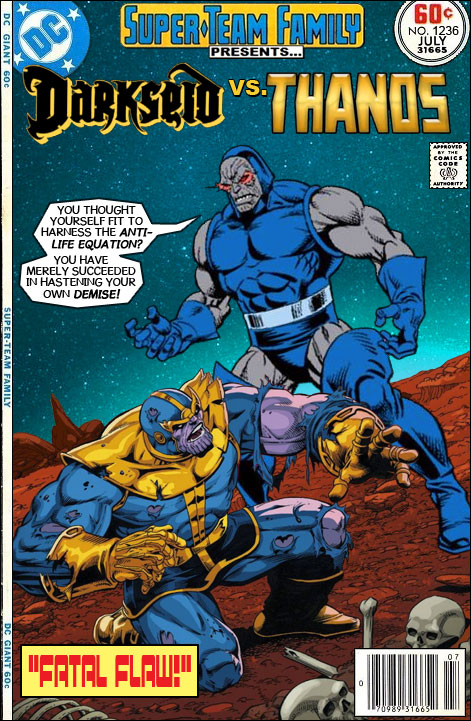 Super-Team Family: The Lost Issues!: Darkseid Vs. Thanos