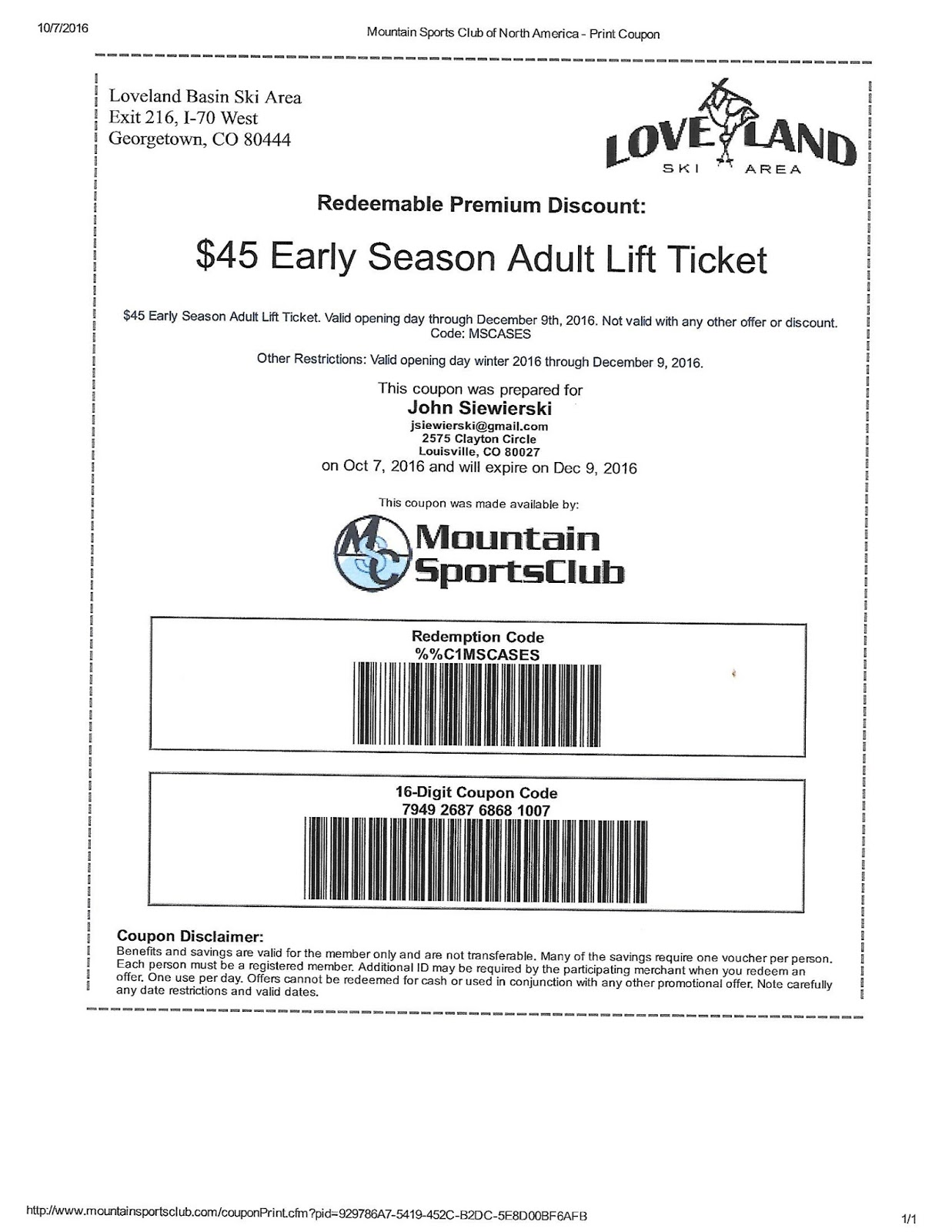 MountainSportsClub - Discount Ski And Snowboard Lift Tickets ...