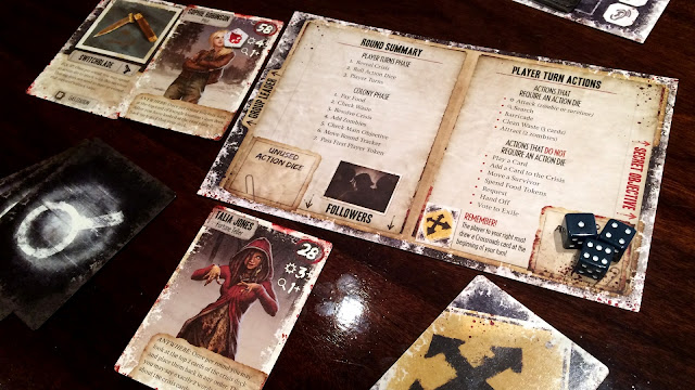 Dead of winter board game review characters