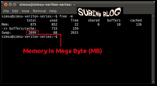 How To Use Hard Disk As RAM In Ubuntu Linux - Subin's Blog