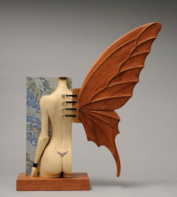 Green Pear Diaries, arte, escultura, John Morris, Metamorfosis