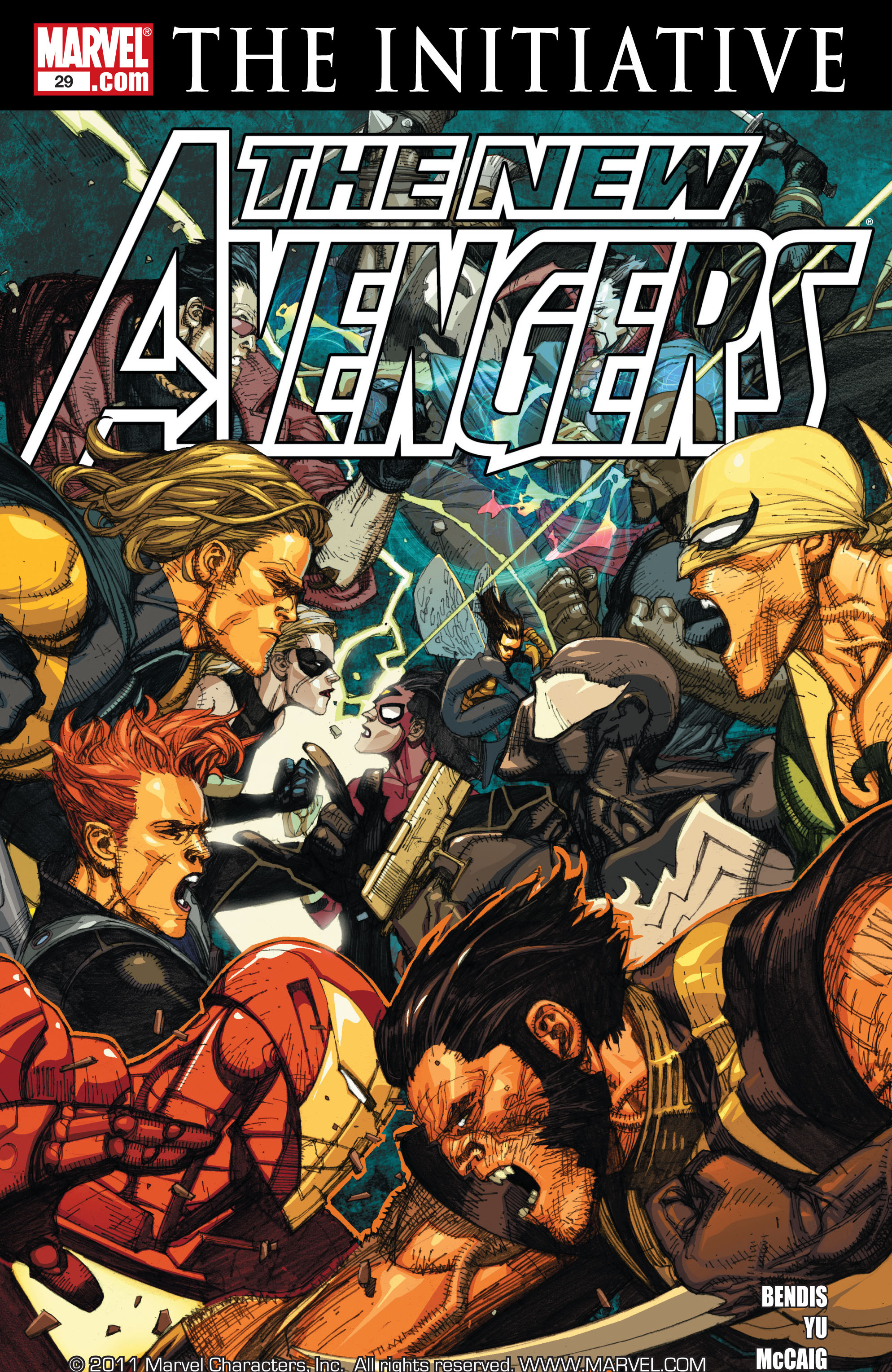 New Avengers (2005) issue 29 - Page 1