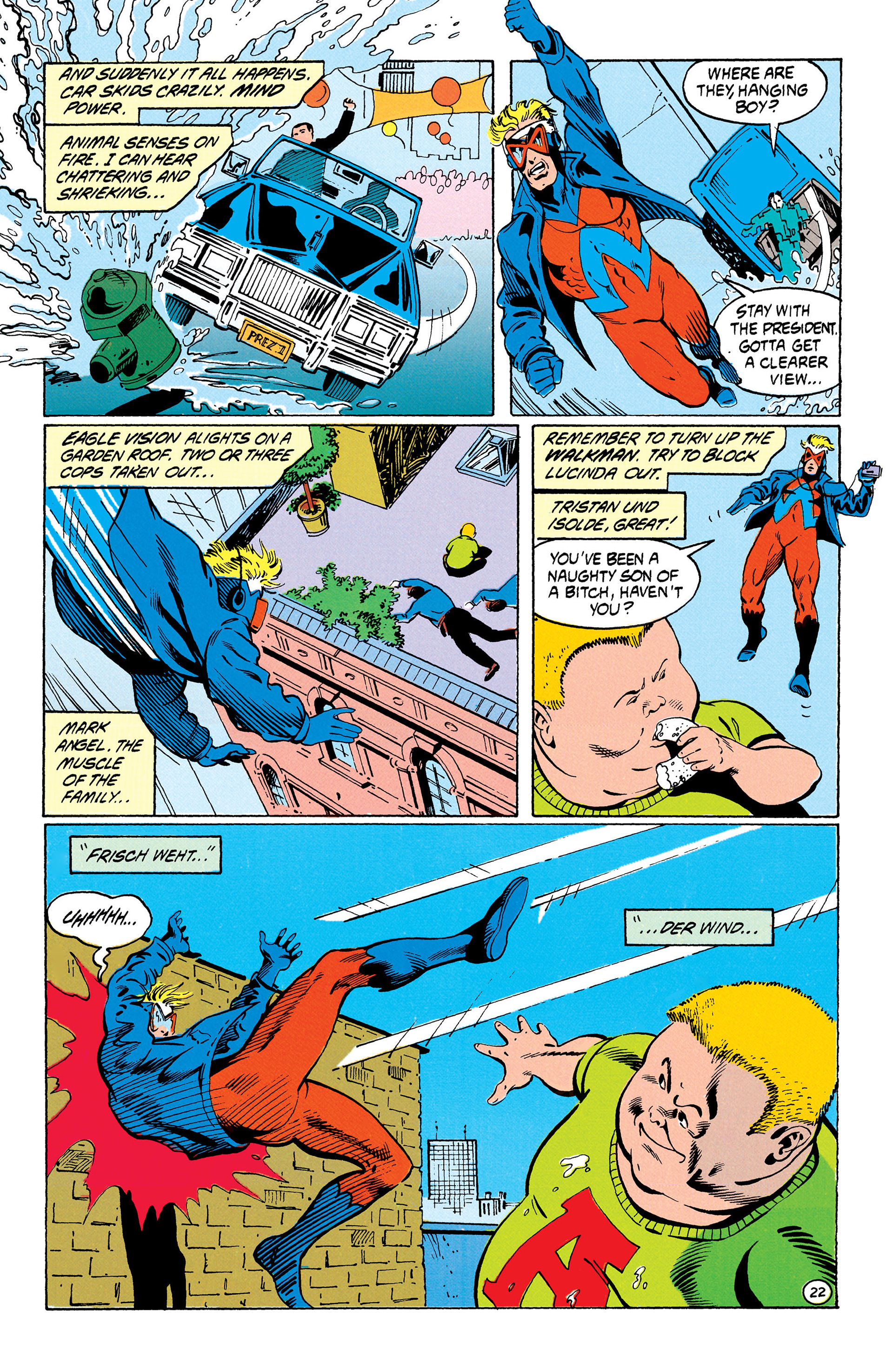 Read online Animal Man (1988) comic -  Issue #30 - 23