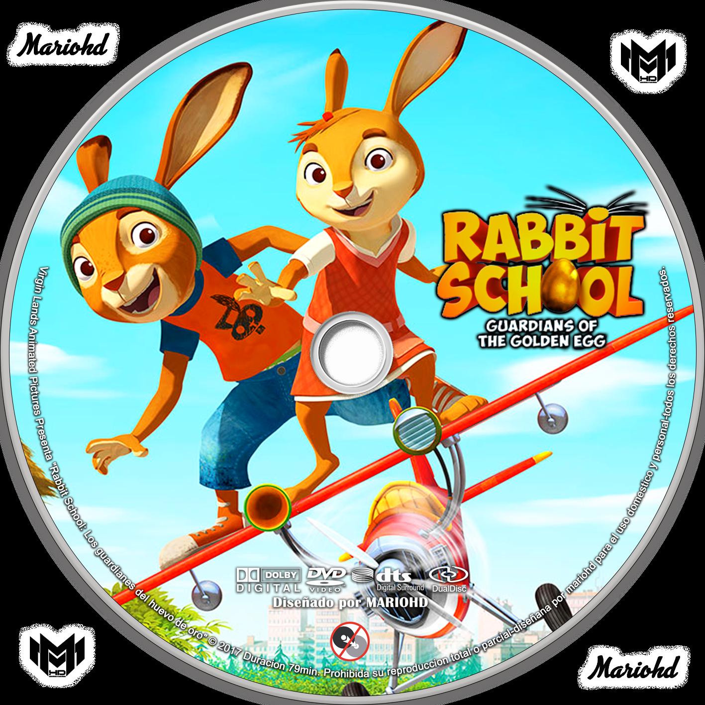 rabbit school guardians of the golden egg dvd