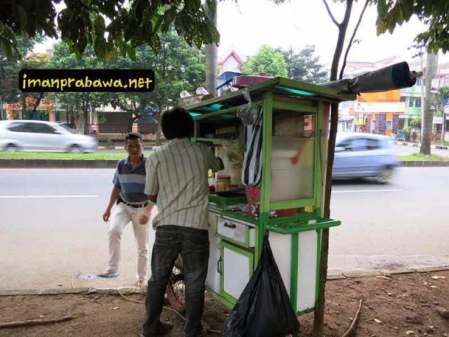 Pak Indra Ice Cream Cincau Bogor