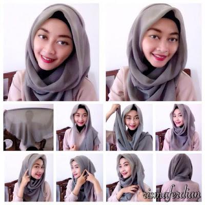 Tutorial Hijab Segitiga Casual Simple untuk Sehari-hari