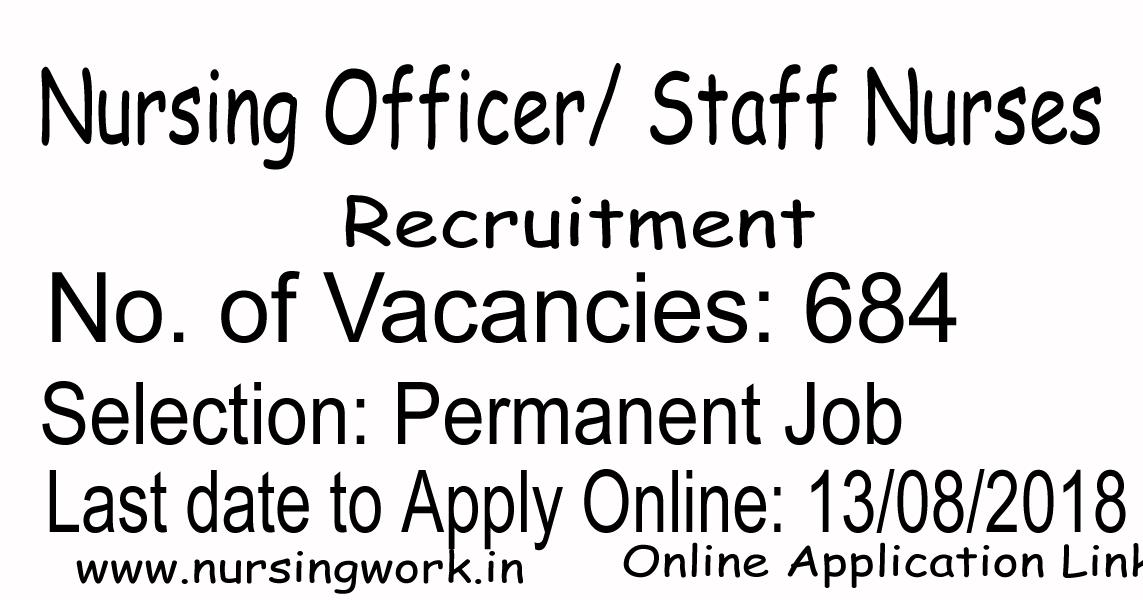 NURSING JOBS: 684 Staff Nurse Jobs in India- 45,000