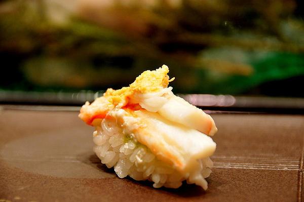 ซูชิเนื้อขาปูหิมะ, มัตสึบะกานิ (Matsubagani)