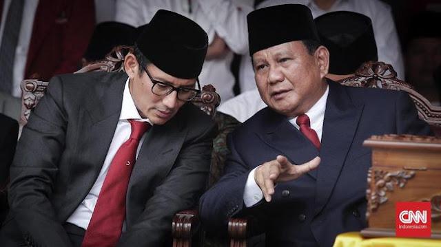 Prabowo-Sandi Bertemu SBY Matangkan Taktik Pilpres Malam Ini
