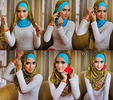cara-cara berhijab modern style 1