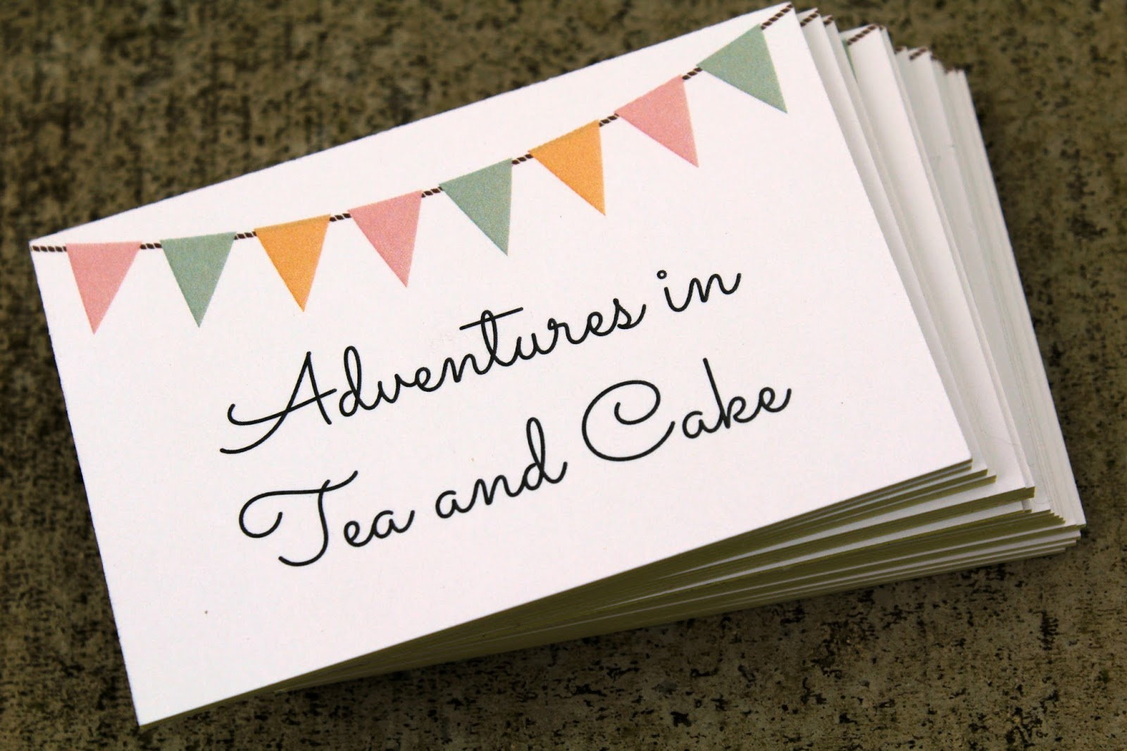 Adventures in Tea and Cake: A Professional Aura (Print)