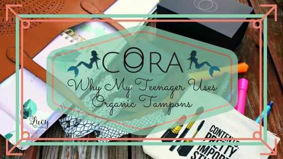 Cora Organic Tampons blog title