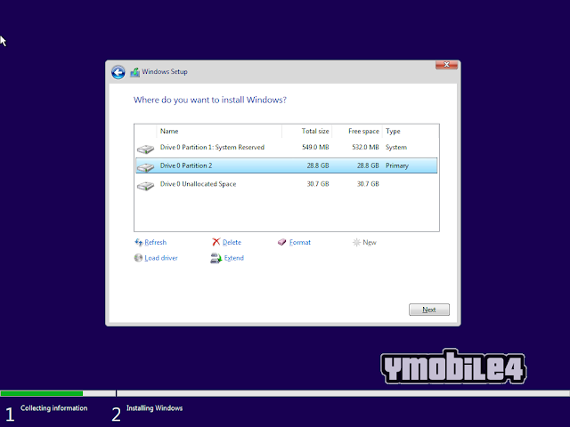 Tutorial Instal Windows 10 Step 13