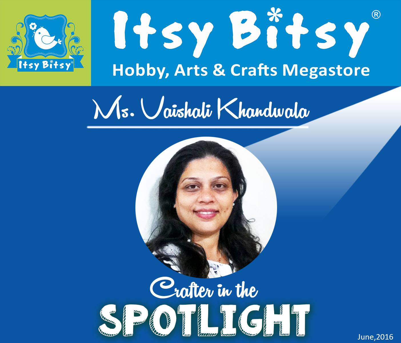 Crafter in Spotlight -4 at Itsy Bitsy