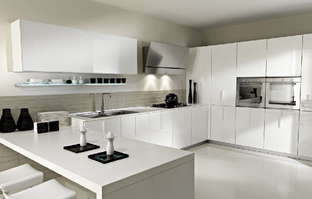 Modular Kitchen Cabinet White