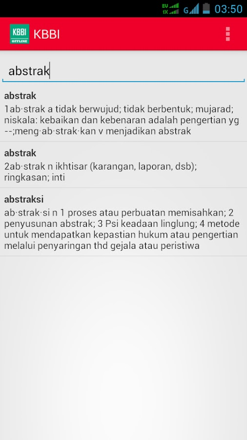 Kamus Besar Bahasa Indonesia Android